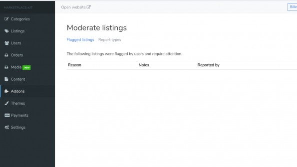 Moderate Listings screenshot 3